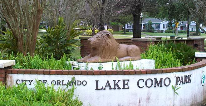 Lake Como Park City Of Orlando